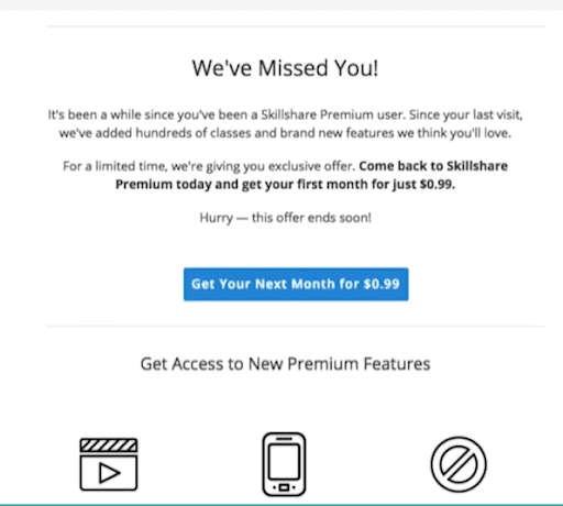 shillshare email marketing example